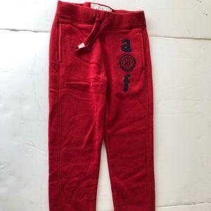 abercrombie Girl's Small Kids Vintage Sweat Pants